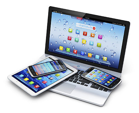 Assorted mobile devices